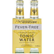 Fever-Tree - Tonic Water - Premium Indian - 4 Pack