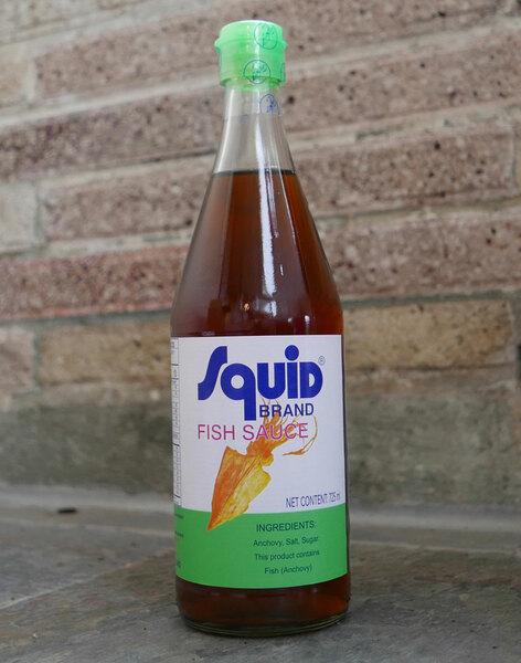 Fish Sauce - Squid