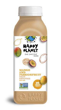 Happy Planet Mango and Passionfruit