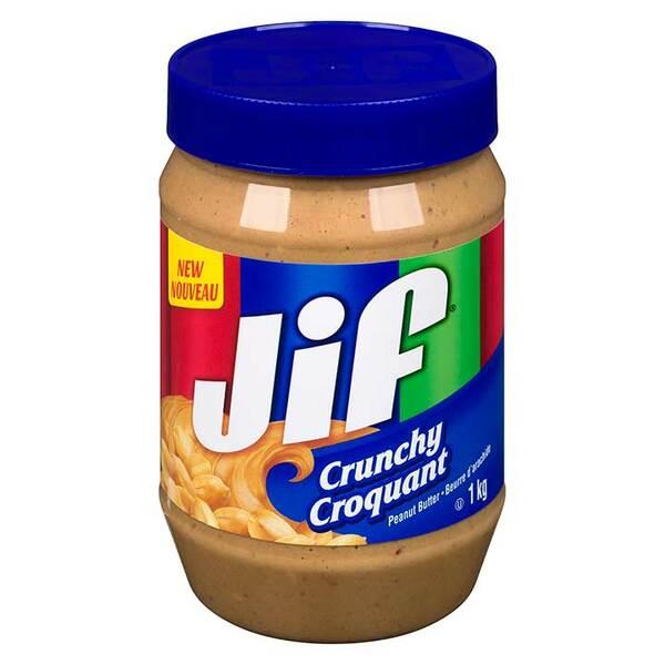 JIF - Crunchy Peanut Butter