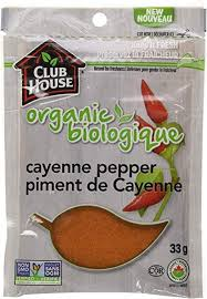 Club House - Organic Cayenne Pepper Bag